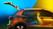 VW T-Cross boot teased