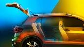 VW T-Cross rear seats teased