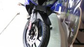 Yamaha R15 V3.0 MotoGP Edition with Valentino Rossi racing number snapped front profile