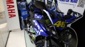 Yamaha R15 V3.0 MotoGP Edition with Valentino Rossi racing number snapped front quarter