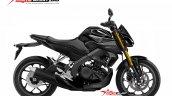 Yamaha Xabre 150 Yamaha M-Slaz MT-15 Facelift Rendering - Black