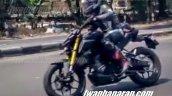 Yamaha Xabre 150 facelift 2019 spyshot