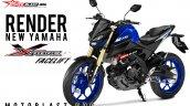 Yamaha Xabre aka Yamaha M-Slaz MT-15 Facelift 1