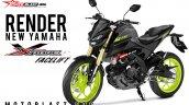 Yamaha Xabre aka Yamaha M-Slaz MT-15 Facelift 2