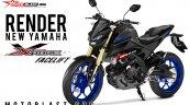 Yamaha Xabre aka Yamaha M-Slaz MT-15 Facelift 3