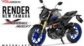 Yamaha Xabre aka Yamaha M-Slaz MT-15 Facelift 4