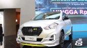 Datsun Go Live Front Three Quarters At Giias 2018