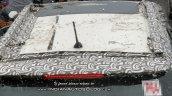 Mahindra S201 Sunroof Top View Spy Image