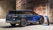 2019 Lincoln Aviator Concept Rear Three Quarters