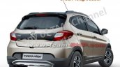 Tata Tiago Nrg Images Rear Three Quarters