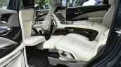 Modified Mahindra Marazzo Interior Middle Row Elec