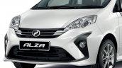 New Perodua Alza Facelift Front Fascia