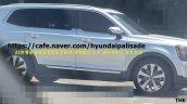 Production Kia Telluride Front Three Quarters Spy