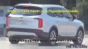 Production Kia Telluride Rear Three Quarters Spy S