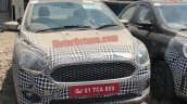 2018 Ford Aspire Facelift Spy Image Front New Gril
