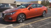 2019 Nissan Altima Sr Front Three Quarters Left Si