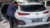 Hyundai Kona Ev At 2018 Move Summit In New Delhi R