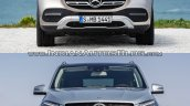 2019 Mercedes Gle Vs 2015 Mercedes Gle Front