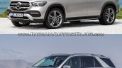 2019 Mercedes Gle Vs 2015 Mercedes Gle Front Three