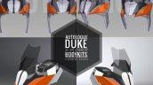 Ktm X Plorer Kit Autologue Designs Fairing Digital