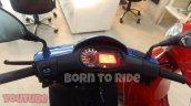 New Aprilia Sr150 Digital Console And Handlebar