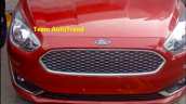 2018 Ford Aspire Facelift Front Grille Headlight