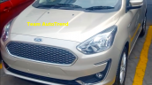 2018 Ford Aspire Facelift White Gold Front Image
