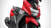 Tvs Ntorq 125 Metallic Red Front Three Quarters Ri