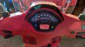 Vespa Sxl 150 Matt Rosso Dragon Speedo Console