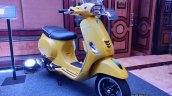 Vespa Sxl 150 Matt Yellow Front Three Quarters