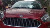 2018 Ford Aspire Facelift Front Ruby Red Image