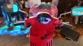 2018 Vespa Sxl150 Matt Rosso Dragon Speedo Console