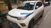 Mahindra Kuv100 Nxt Amt Front Three Quarters Image