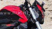 New Bajaj Dominar 400 Spied Fuel Tank