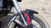 New Bajaj Dominar 400 Spied Upside Down Front Fork