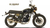 Cleveland Cyclewerks Ace Scrambler Black Side Prof