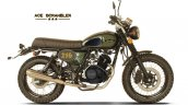 Cleveland Cyclewerks Ace Scrambler Green Side Prof