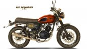 Cleveland Cyclewerks Ace Scrambler Orange Side Pro
