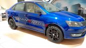 Skoda Rapid Onyx Front Three Quarters