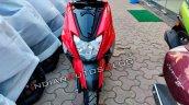 Tvs Ntorq 125 Metallic Red Front Profile