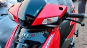 Tvs Ntorq 125 Metallic Red Front Section