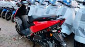 Tvs Ntorq 125 Metallic Red Rear Quarter