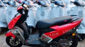 Tvs Ntorq 125 Metallic Red Side Profile