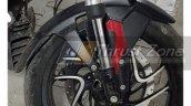 2019 Bajaj Dominar 400 Spied Front Suspension 2209