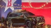 Production Kia Telluride Front Three Quarters