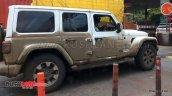 Jeep Wrangler Unlimited Jl Right Side Spy Shot Ind