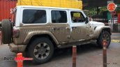 Jeep Wrangler Unlimited Spy Photo India
