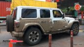 Jeep Wrangler Unlimited Spy Picture India