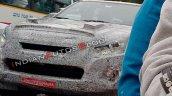 2019 Isuzu D Max V Cross Facelift Front Fascia Spy