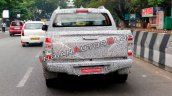 2019 Isuzu D Max V Cross Facelift Rear Spy Shot In